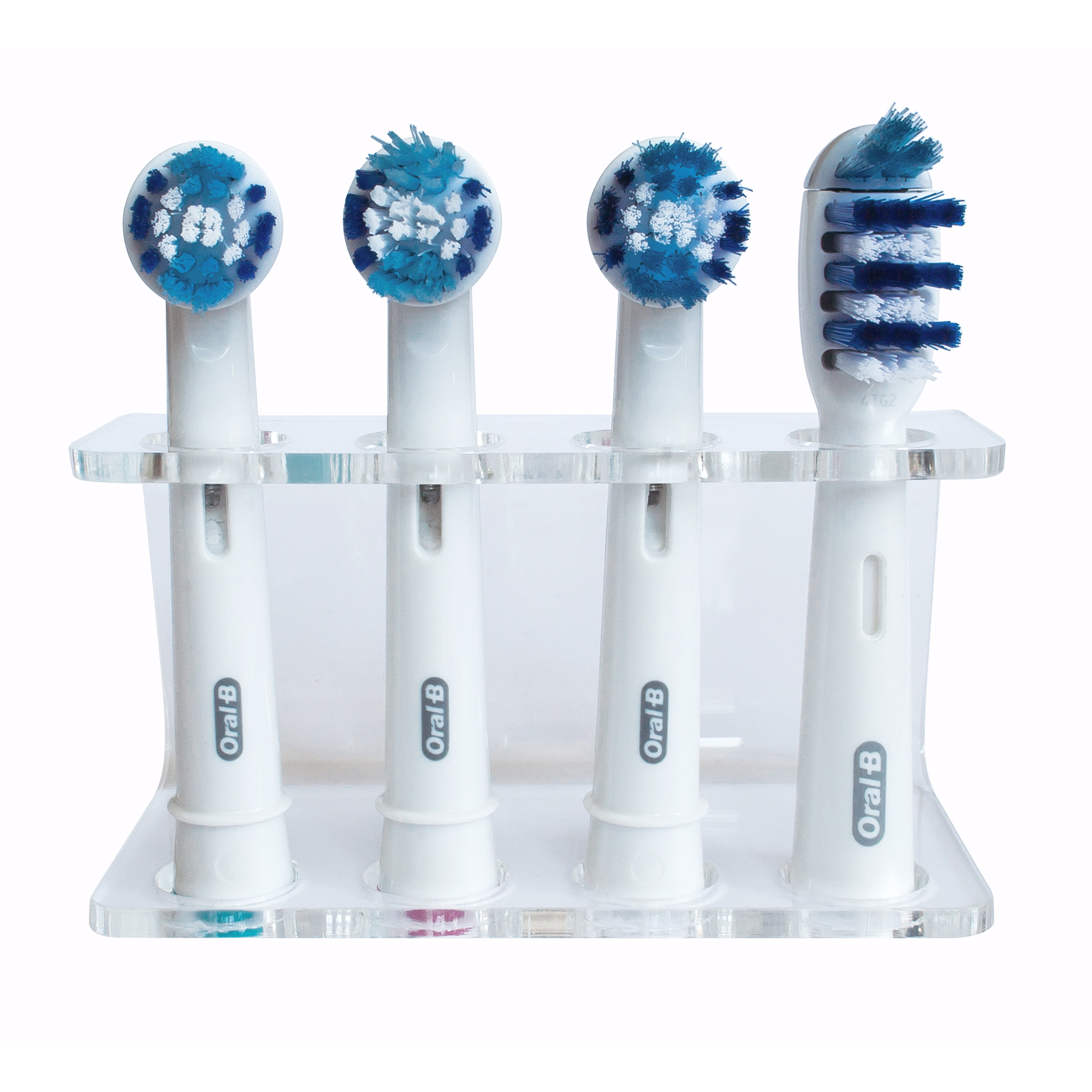seemii clear electric toothbrush head holder for oral b heads. Black Bedroom Furniture Sets. Home Design Ideas