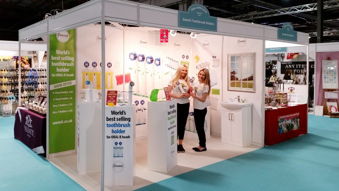 spreading the seemii word at the ideal home show manchester
